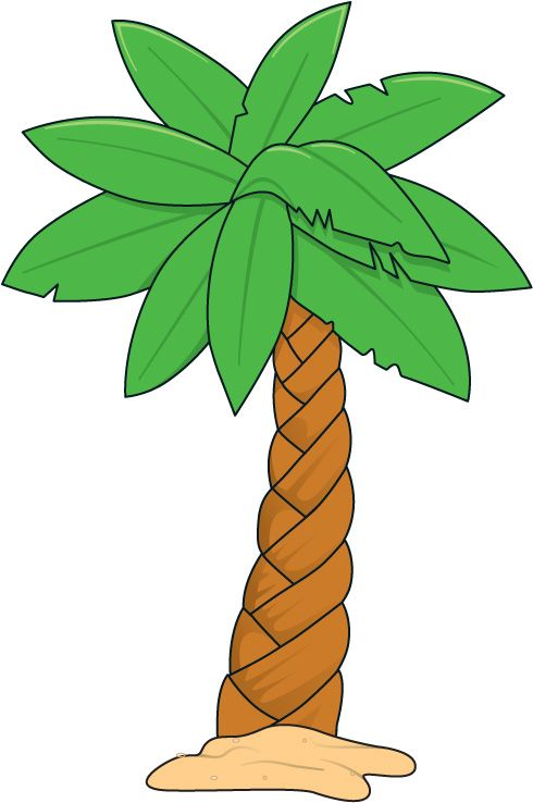 Palm tree clip art ideas on 2