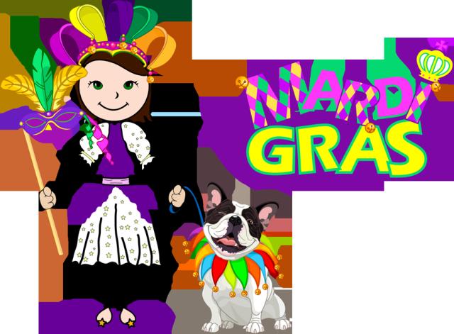 Parade mardi gras clip art 4 clipartandscrap
