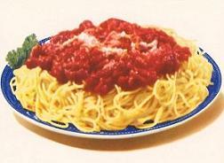 Pasta free spaghetti dinner clipart 3