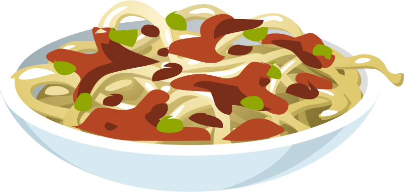 Pasta spaghetti clipart 9 clipart