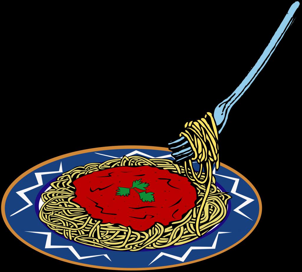 Pasta spaghetti clipart
