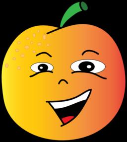 Peach 3 clip art