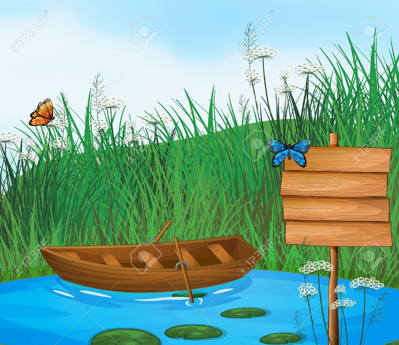 Pond clip art pond clipart fans 4