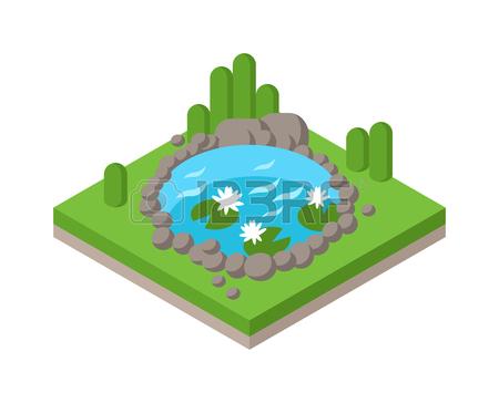 Pond clip art pond clipart fans 5