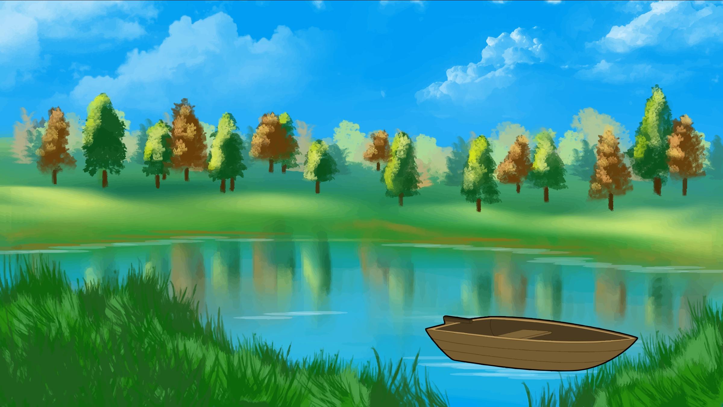 Pond clipart 2 clipart