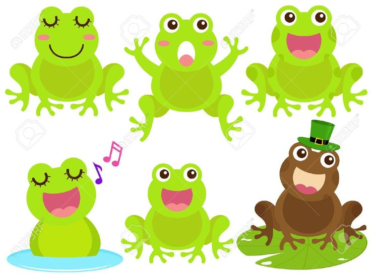 Pond images on cute frogs drawings and frog art clip art