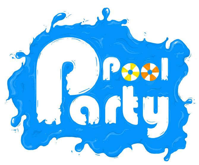 Pool party ashton creek prg apartments clip art