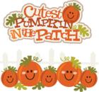 Pumpkin patch border clipart clipart