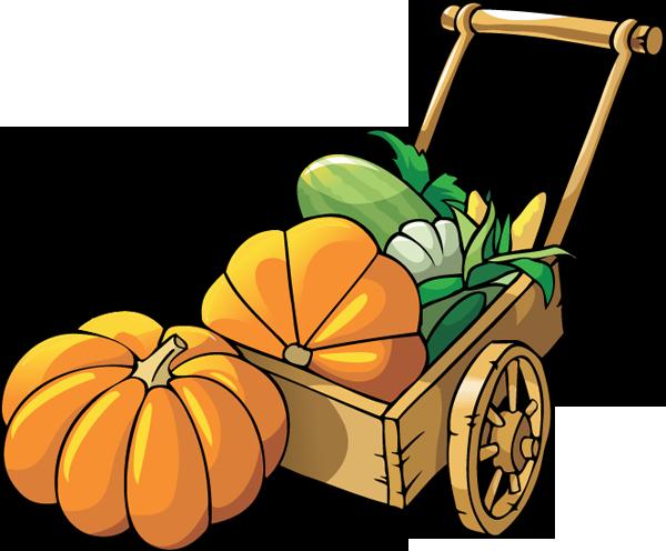 Pumpkin patch clip art 2 clipart