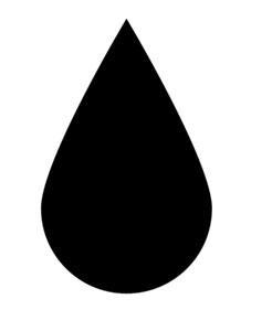 Raindrop clip art clipart image