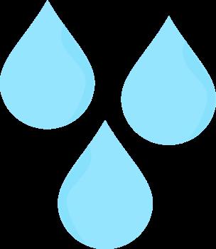 Raindrop clip art rain drops clipart