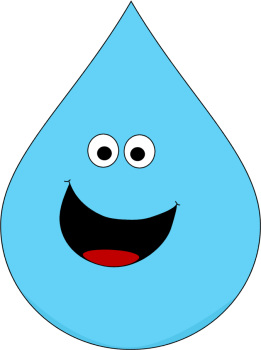 Raindrop clipart free images 11