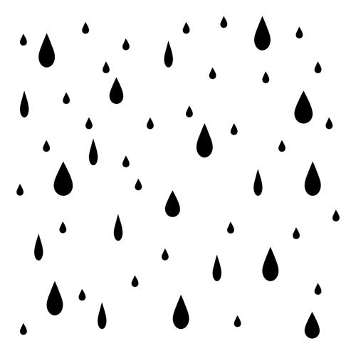 Raindrop rain drop template free download clip art on