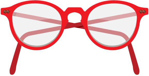 Red nerd glasses clipart clip art library