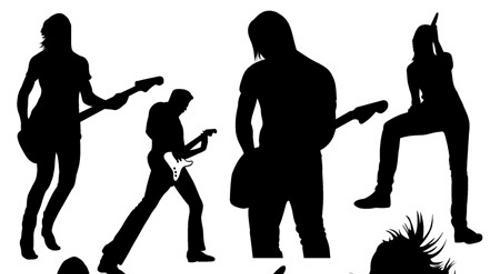 Rock band clip art co 3 image