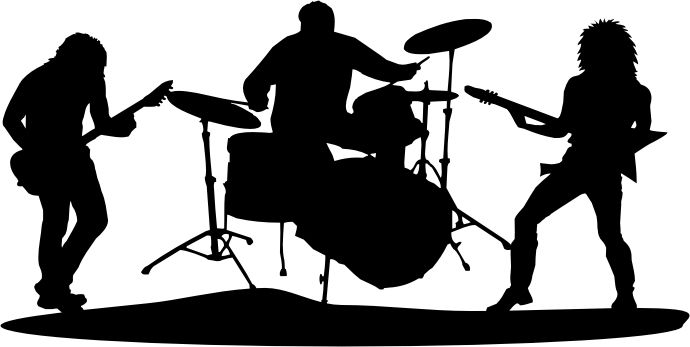 Rock band clipart clip art library