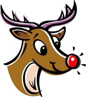 Rudolph christmas clipart clip art library