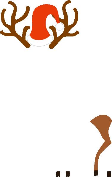 Rudolph clip art at vector clip art 2