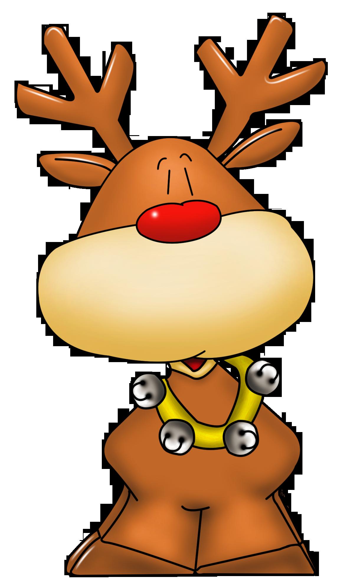 Rudolph clip art library