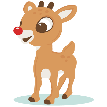 Rudolph girl reindeer clipart clipartxtras