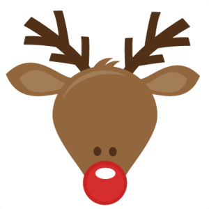 Rudolph head clipart free clip art images