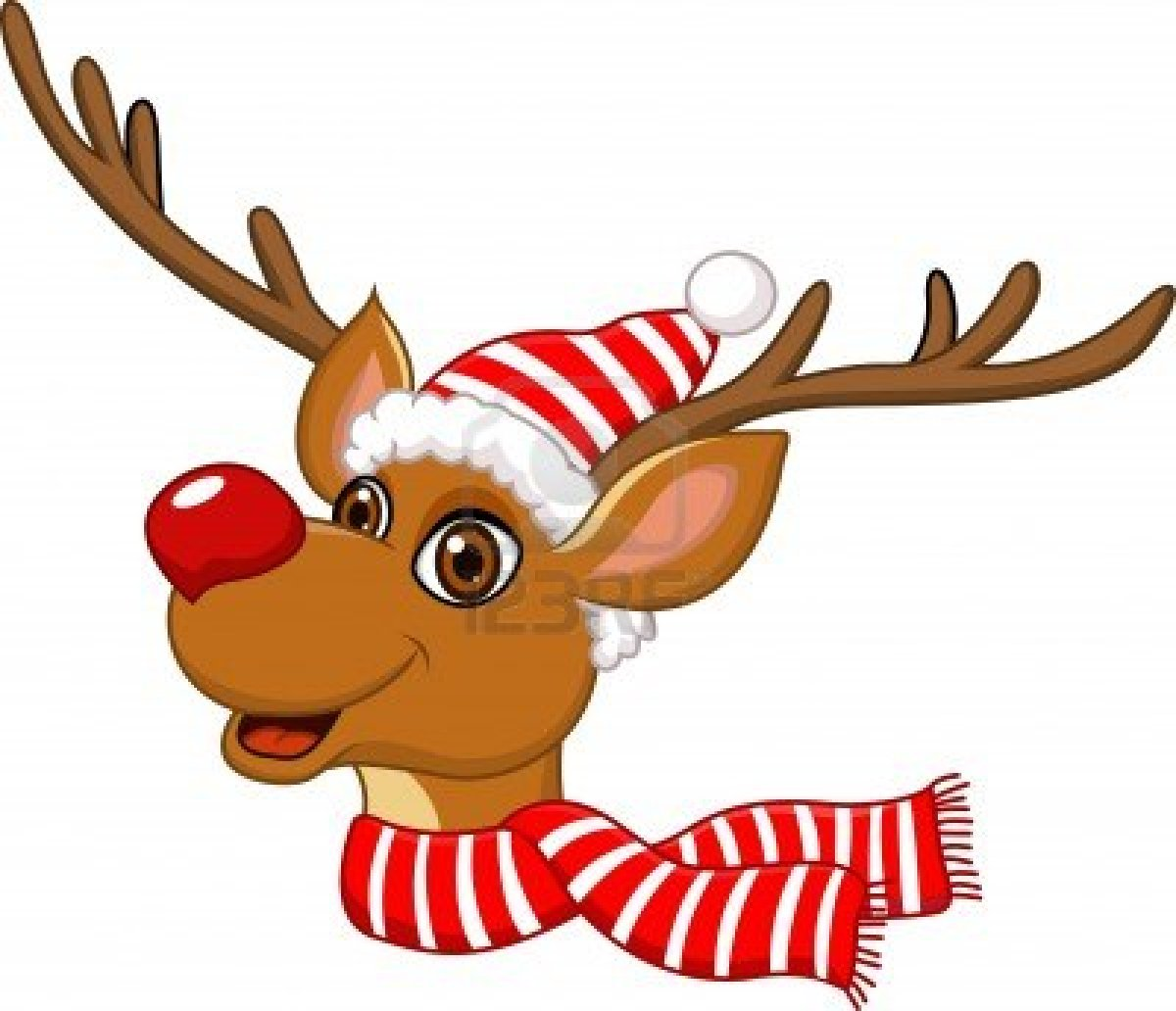 Rudolph reindeer clipart free many interesting cliparts