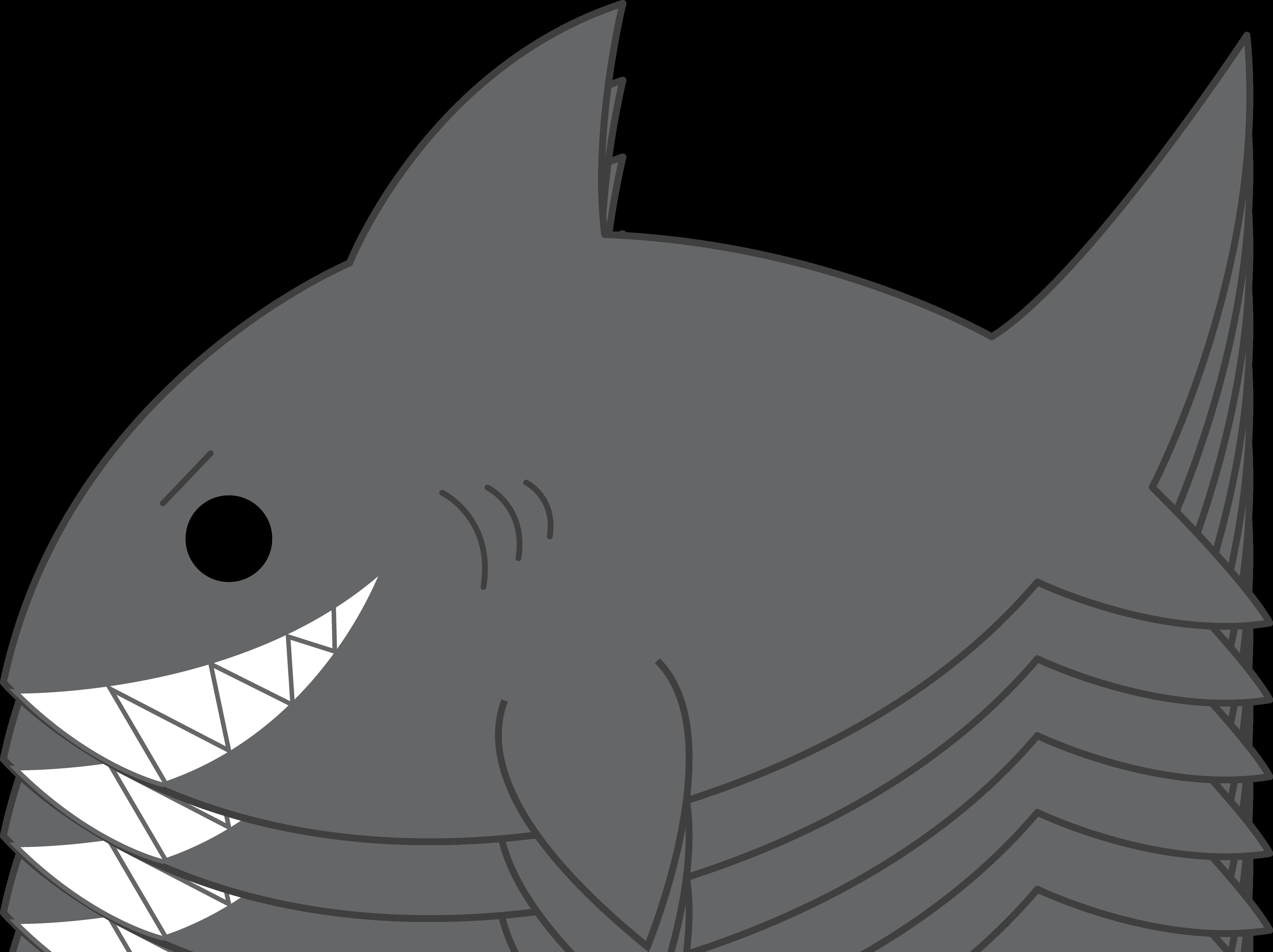 Shark fin top shark clip art free clipart spot