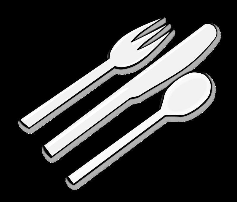 Silverware free cutlery clip art 2
