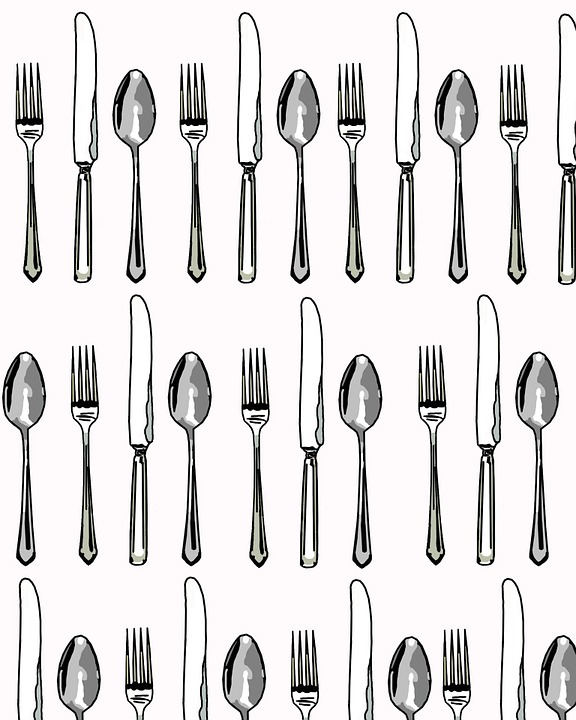Silverware free illustration fork spoon knife knives clip image clip art