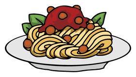 Spaghetti pasta clip art 2