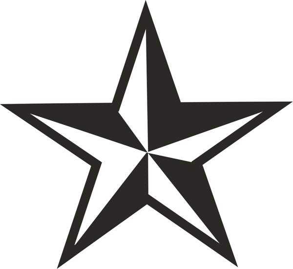 Star  black and white star black and white star clip art free clipart images