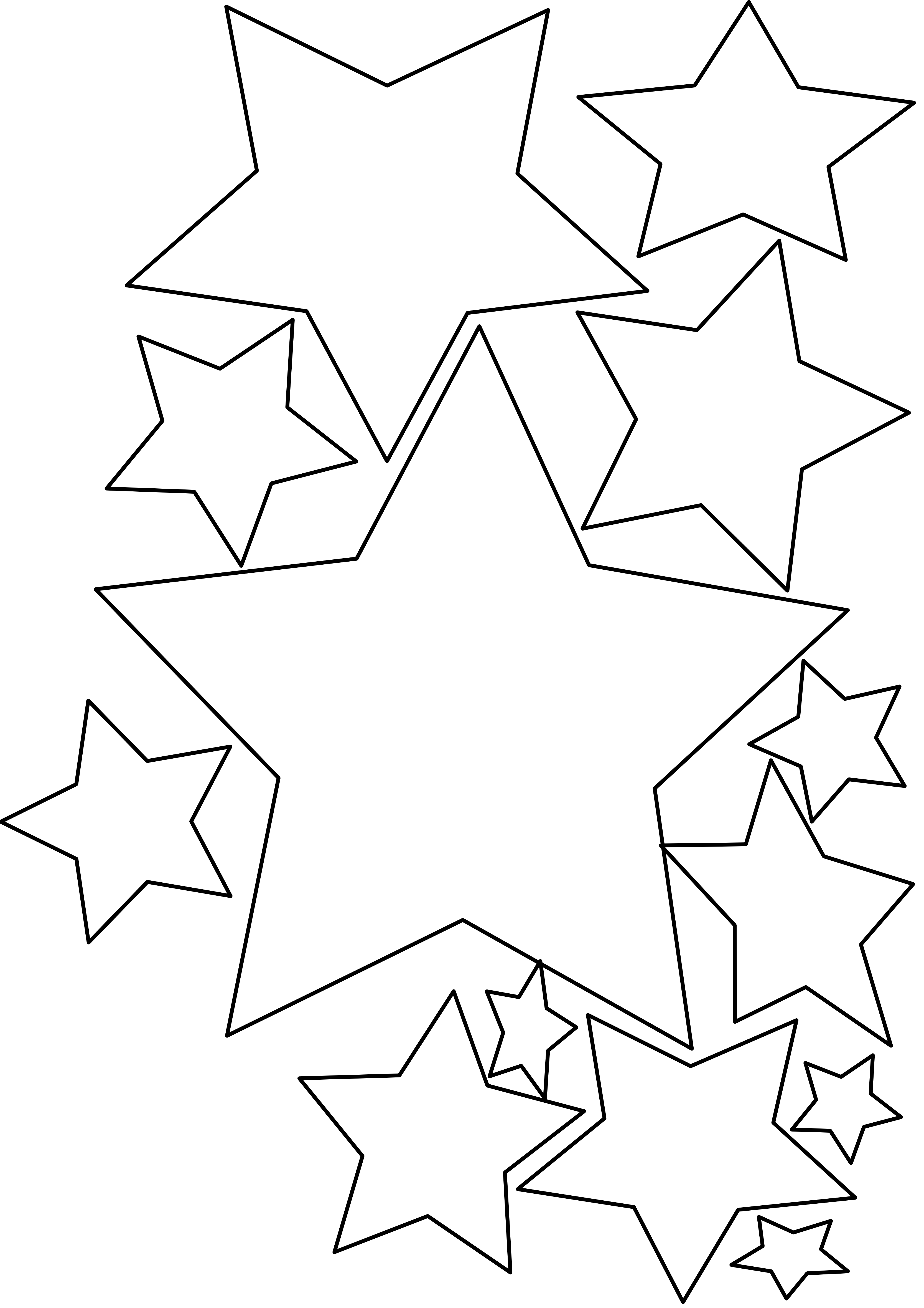 Star  black and white top shooting star clipart black and white pics about space library