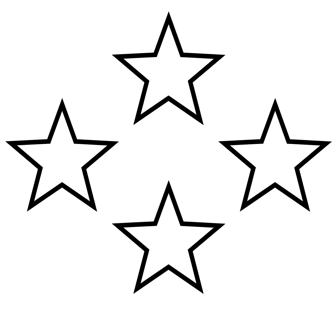 Star  black and white white stars free download clip art on clipart