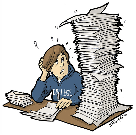 Student stress clipart clip art library