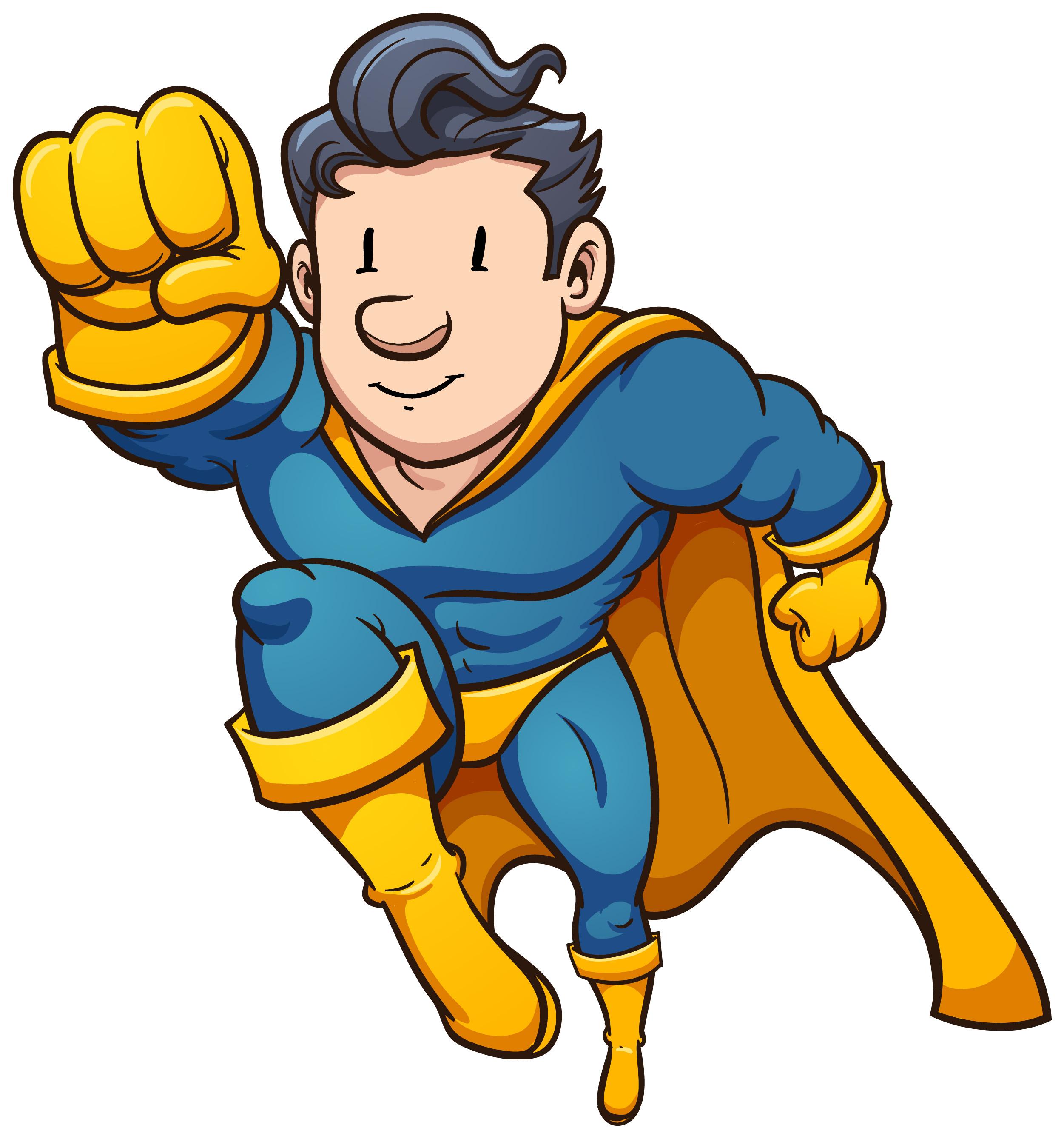 Superhero clipart 2