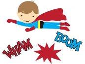 Superhero clipart 4