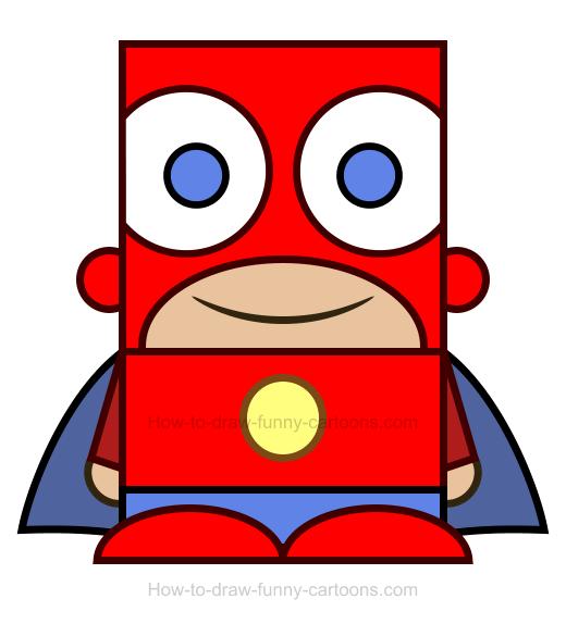 Superhero clipart 5