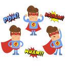 Superhero super hero clipart