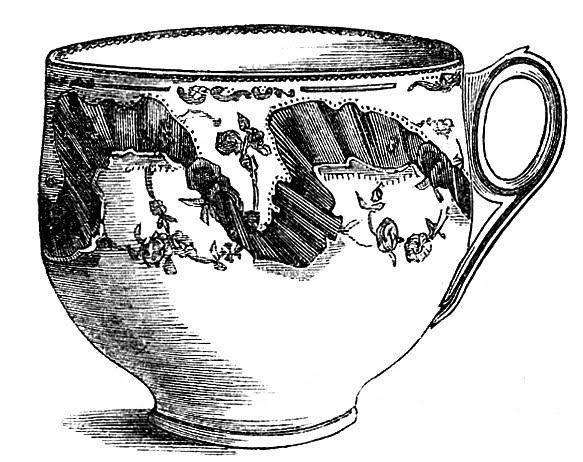 Tea cup vintage tea clip art fancy teacups the graphics fairy