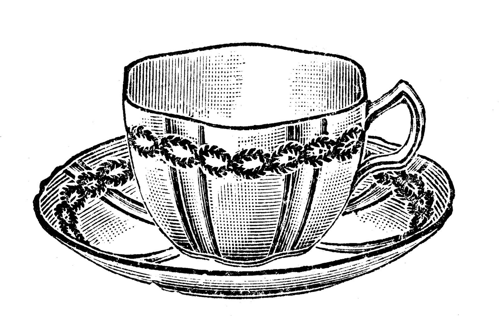 Tea cup vintage tea cliparts free download clip art on
