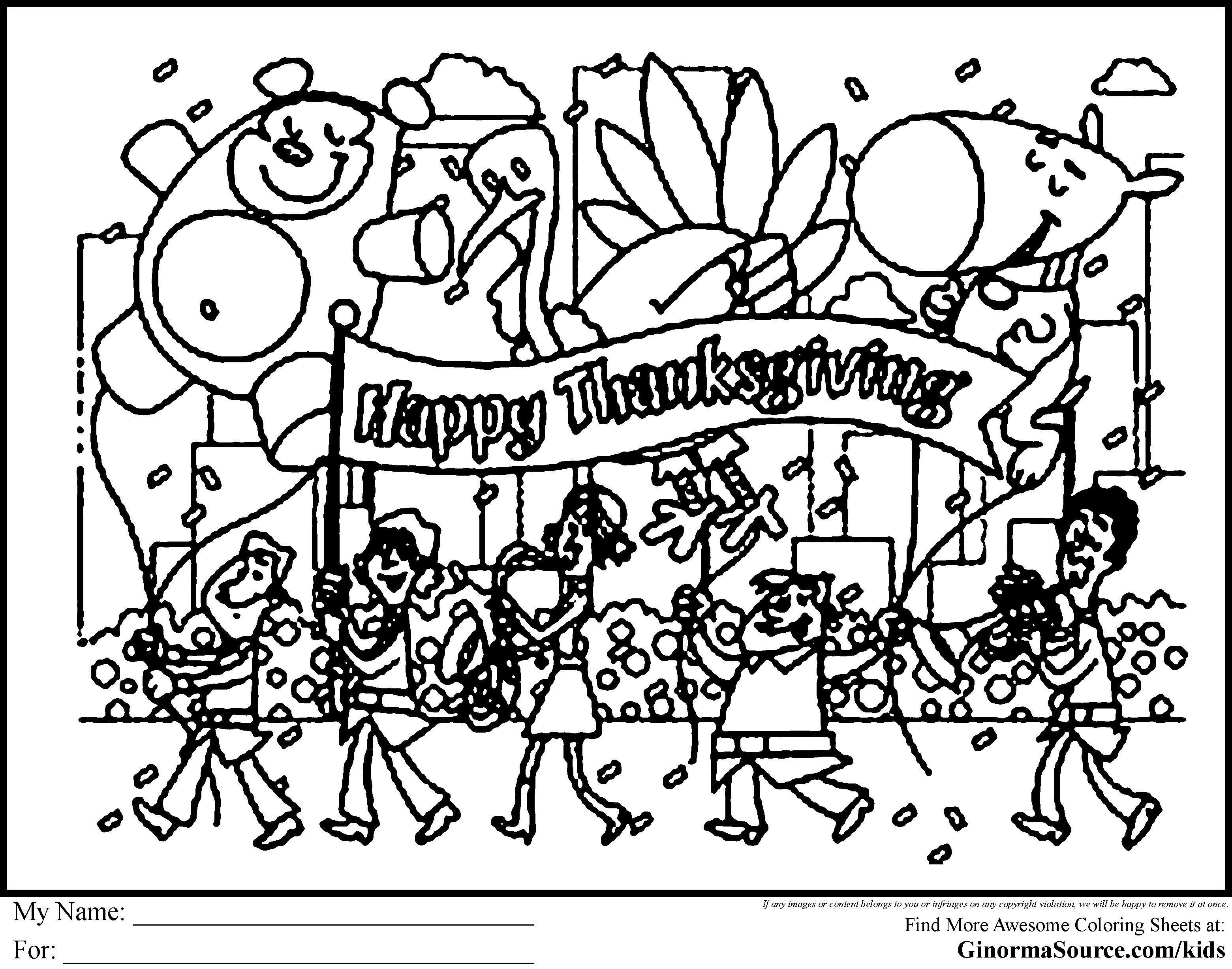 Thanksgiving parade clipart clipartxtras