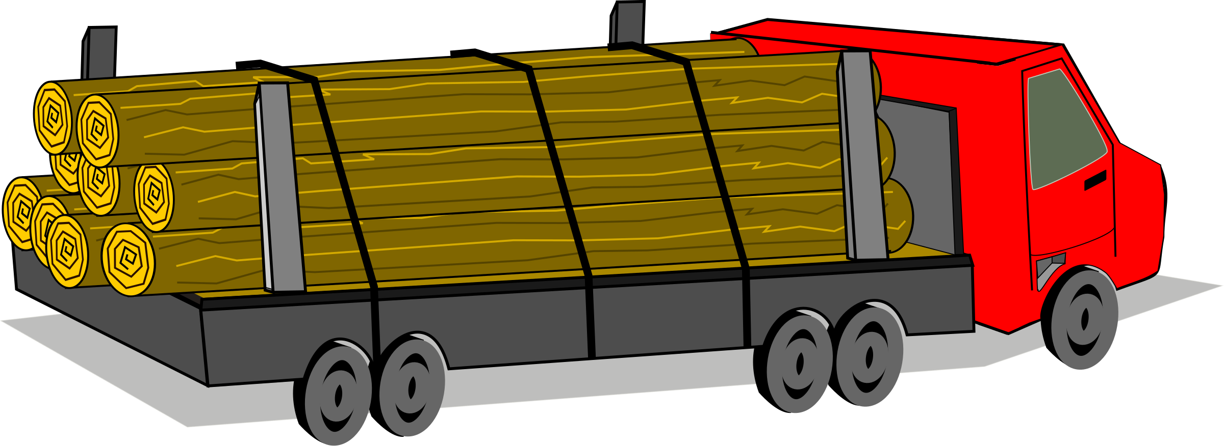 Truck log clipart explore pictures