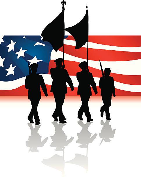 Veterans day parade clipart clipartxtras 2