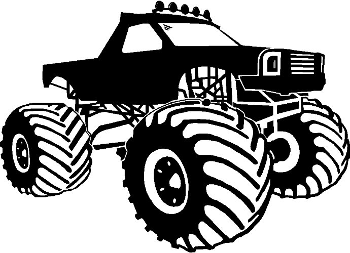Vinyl graphics monster truck re casper photography clip art