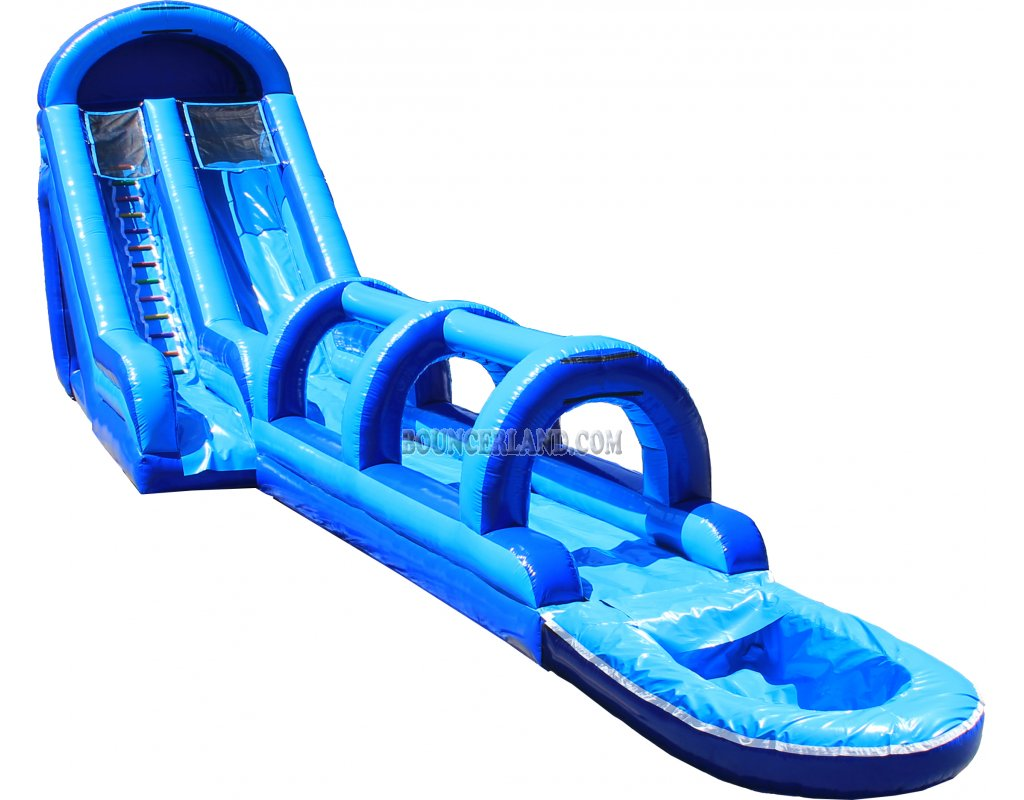 Water slide inflatable clipart