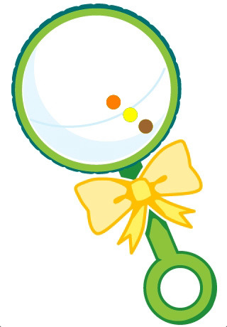 Baby rattle clipart free images 5 clipart
