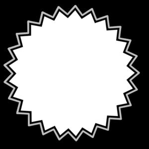Clip art starburst clipart image 2