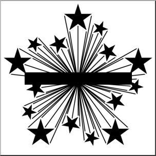 Clip art starburst clipart image