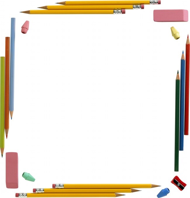 Cute pencil border picture download over millions vectors stock