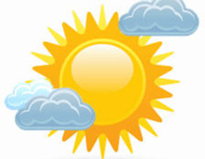 Mostly sunny clip art images pictures becuo s7t6jd clipart